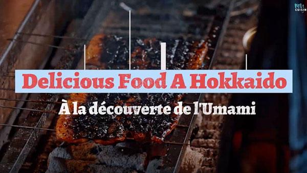 Delicious Food a Hokkaido