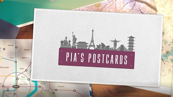 PIA'S POSTCARDS